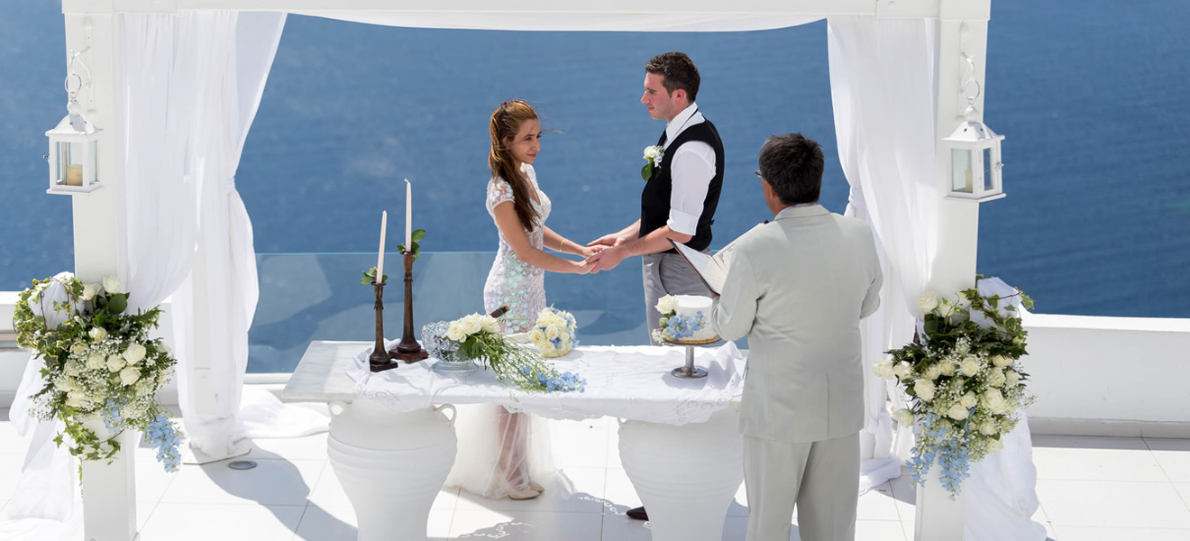Santorini wedding ceremony cost